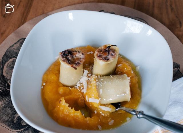 stuffed pasta radicchio and ricotta