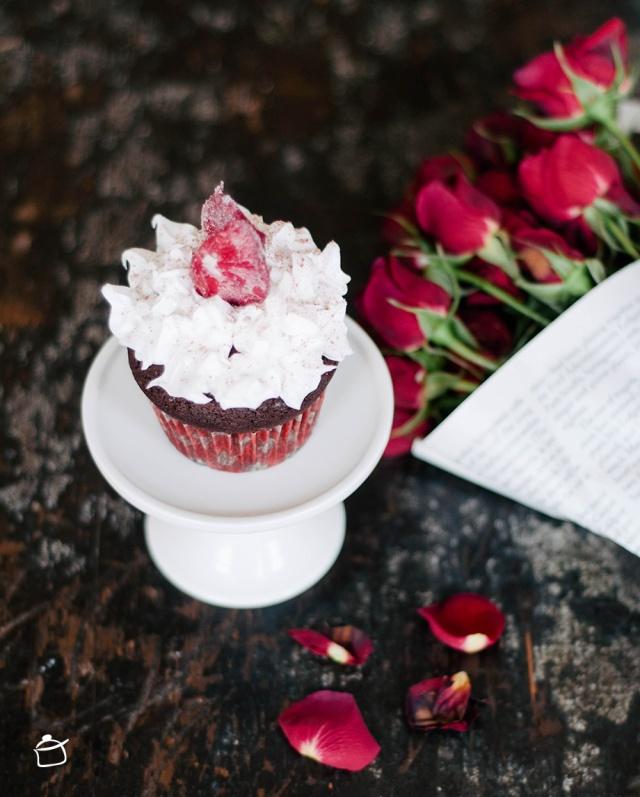 cupcakes au chocolat noir et poivre