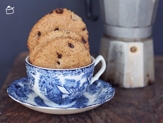 biscuits à la farine d'épeautre et banane