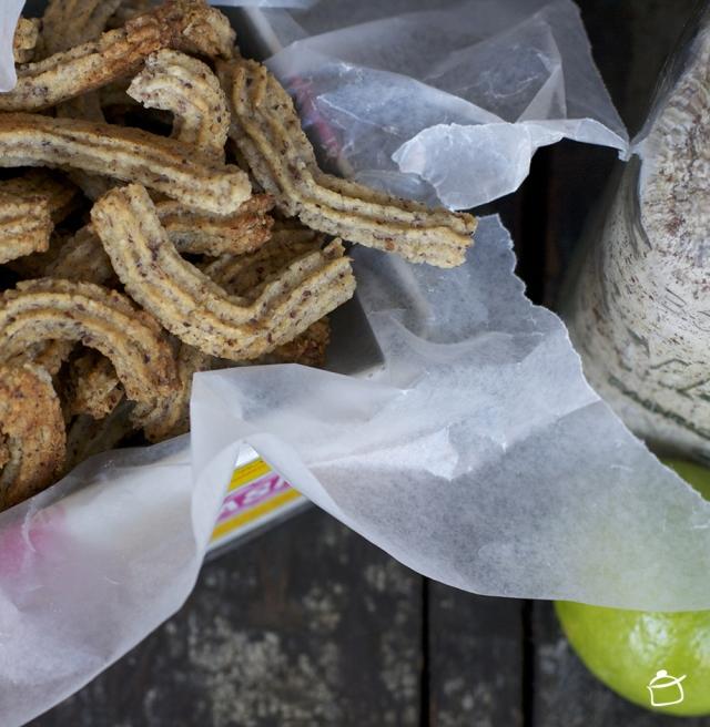 Krumiri alla farina di nocciole e lime