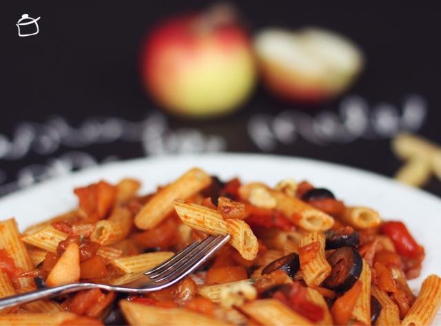 la pasta con le mele
