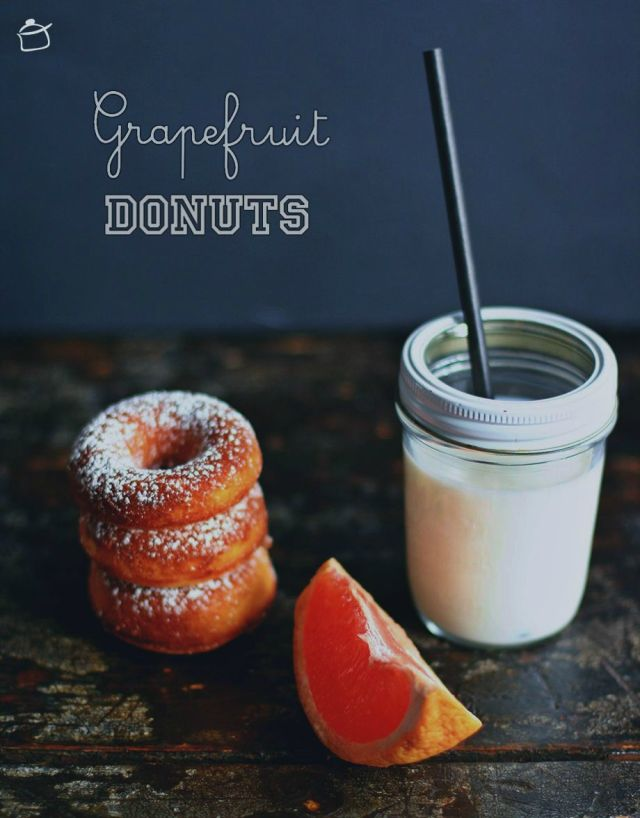 grapefruit donuts
