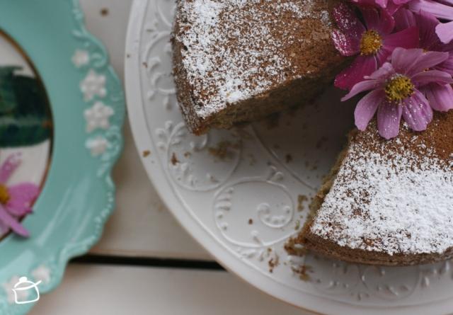 torta fluffosa al té verde
