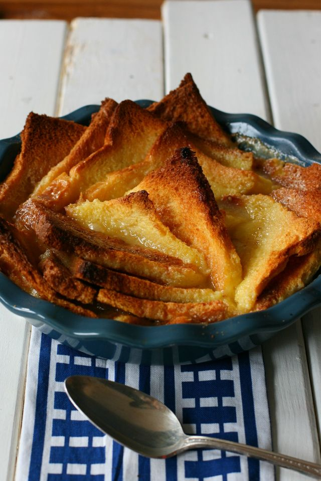 budino di pane dolce