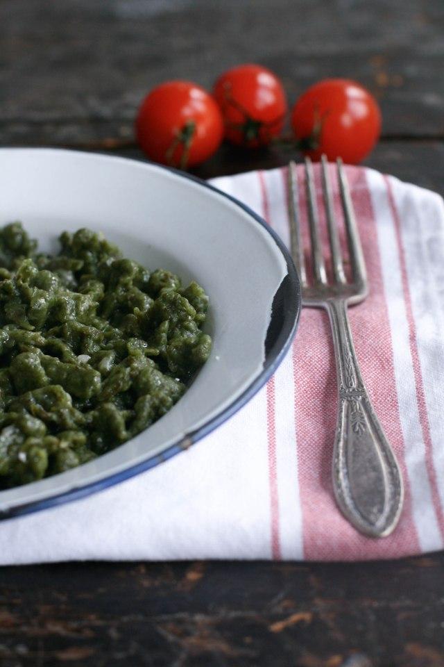 spinach homemade italian pasta