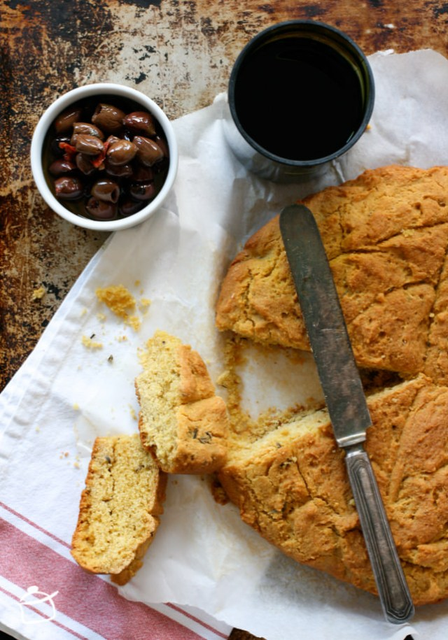 corn flour homemade bread
