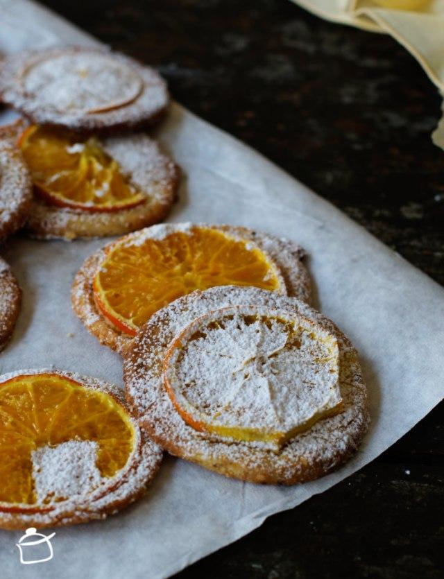 biscotti alla nocciola e arancia