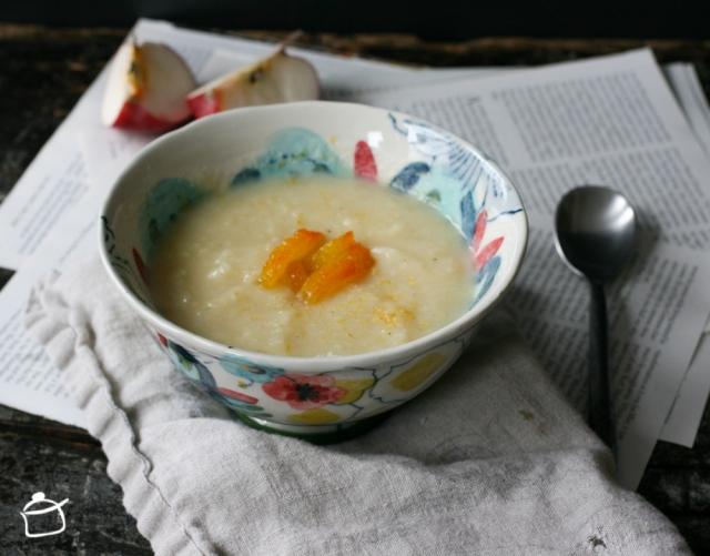 minestra di pastinaca e mele